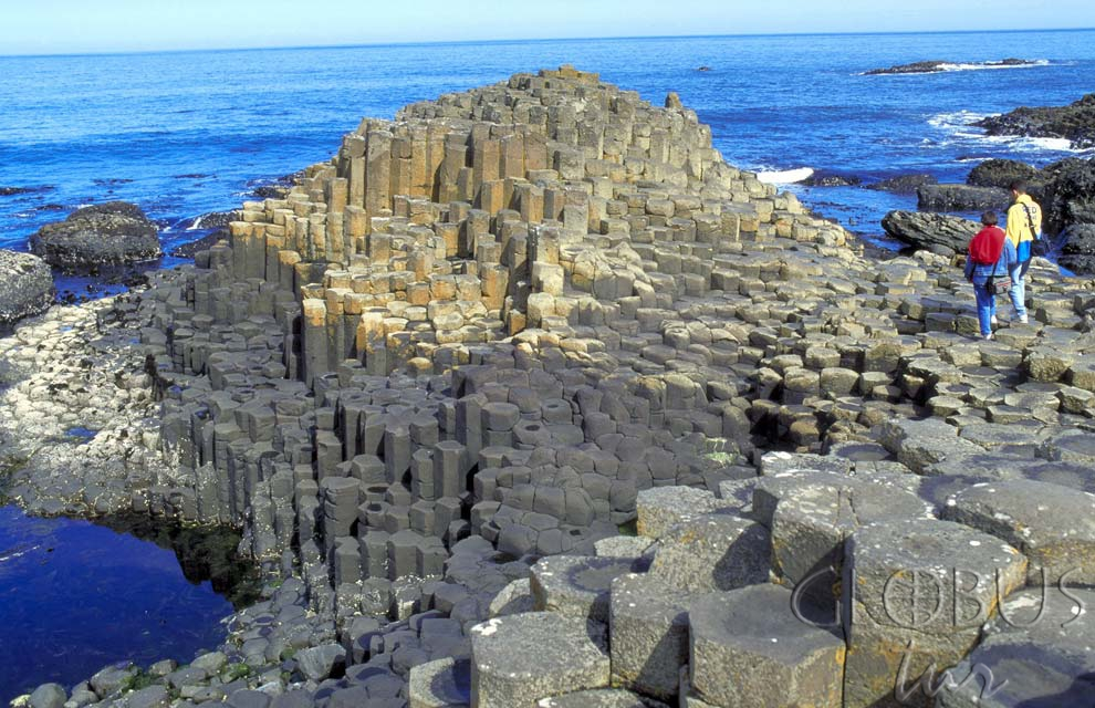 Giant causeway in scotland