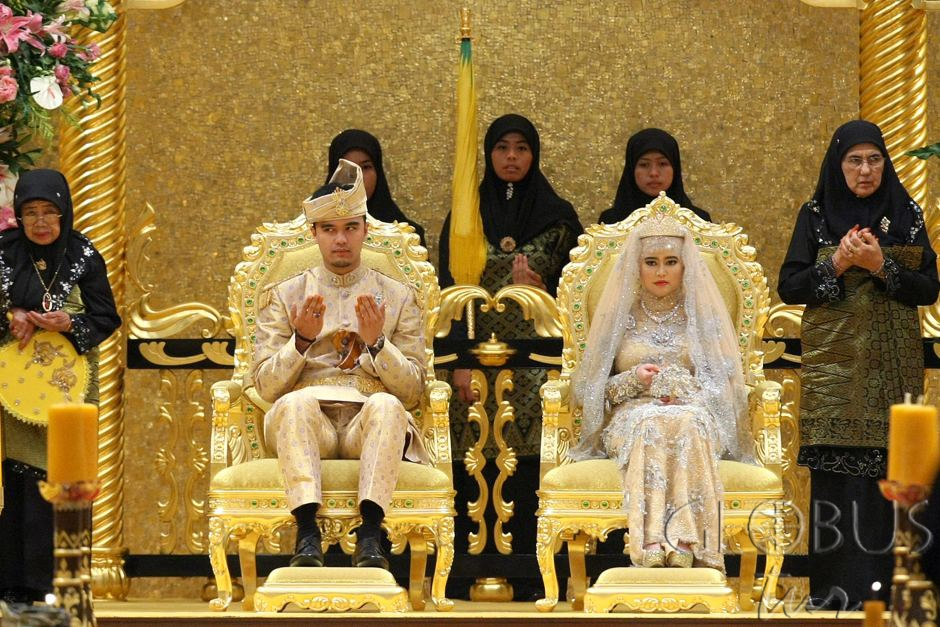 Arabia king daughter wedding