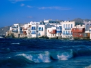 Миконос, Mykonos-Cyclades-Islands-Greece-Wallpaper