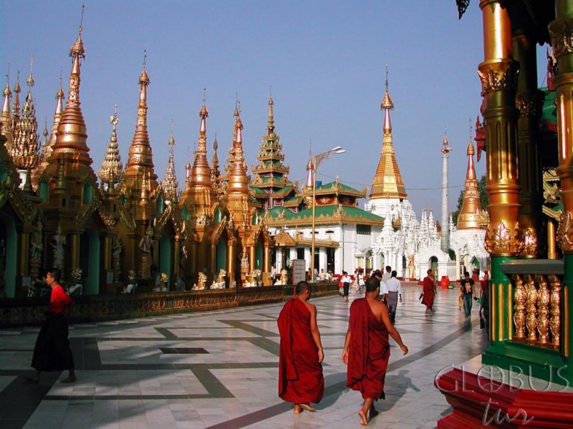 Картинки по запросу золотые дворцы мьянма фото