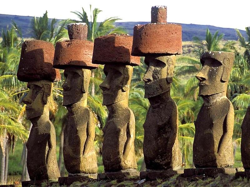 Чили. Остров Пасхи